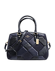 Empire Patchwork Leather Tote Bag