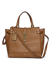 Darwin Pebbled Leather Tote