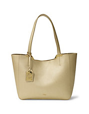 Acadia Leather Shopper Bag