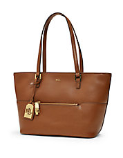 Whitby Leather Shopper