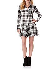 Sophie Plaid Shirtdress