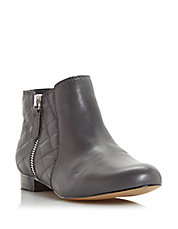 Quest Quilted Leather Booties