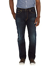 Sequoia Dark-Wash Straight-Leg Jeans