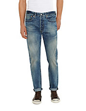 Fog Catcher Distressed Cuff Bootcut Jeans