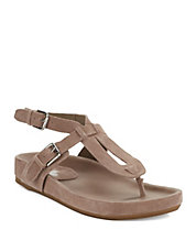 April Leather Thong Sandals