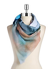 Palm Beach Scene Scarf