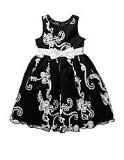 Girls 2-6x Soutache Occasion Dress