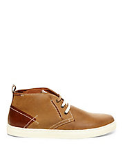 Leather Chukka Sneakers