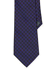 Buffalo Check Silk Tie
