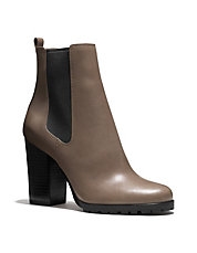 Odelle Leather Gore Ankle Boots