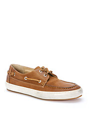 Norfolk Leather Moc-Toe Sneakers