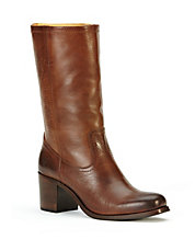 Kendall Mid-Calf Leather Boots