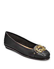 Highbet Leather Flats