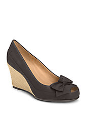 Well Wisher Peep-Toe Wedges