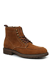 Reston Suede Lace-Up Boots