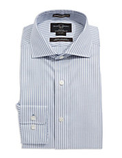 Fitted Striped Dress Shirt