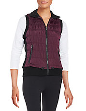 Puckered Performance Vest