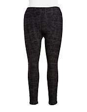 Crosshatched Active Leggings