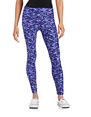 Patterned Active Leggings