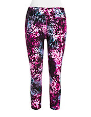 Cropped Printed Leggings