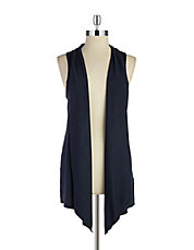 Asymmetrical Knit Vest