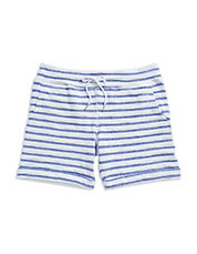 Boucle Striped Shorts