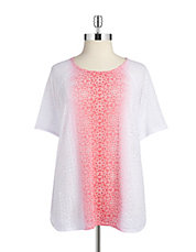 Abstract Ombre Tee