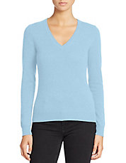 Basic V-Neck Cashmere Sweater