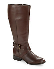 Maryann Wide Calf Riding Boots