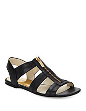 Berkley Leather Flat Sandals