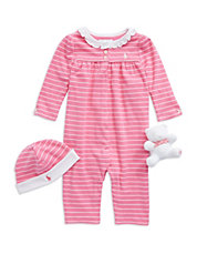 Baby Girls 3-Piece Coming Home Set