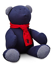 Baby Boys Scarf Teddy Bear