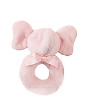 Baby Boys Plush Elephant Rattle