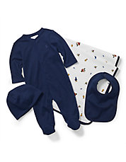Baby Boys Four-Piece Gift Set