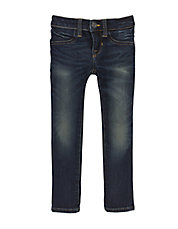 Girls 2-6x Distressed Stretch-Fit Jeans