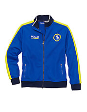 Boys 8-20 Zip-Front Track Jacket