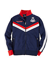 Boys 8-20 USA Track Jacket