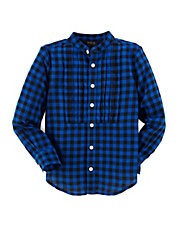 Girls 2-6x Plaid Dress Shirt