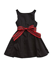 Girls 2-6x Belted Dress