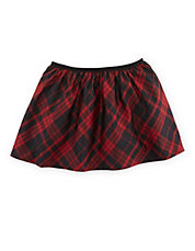 Girls 2-6x Plaid Taffeta Pleated Skirt