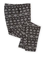 Girls 2-6x Snowflake Cotton Stretch Leggings