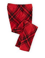 Girls 2-6x Plaid Cotton Stretch Leggings