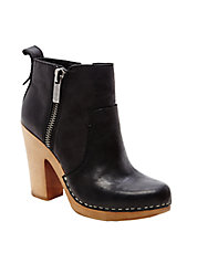 Arlynn Leather Ankle Boots