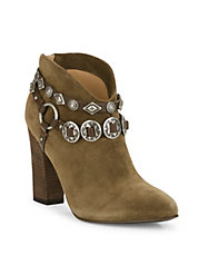 Fusion Suede Ankle Boots