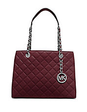 Susannah Quilted Leather Tote
