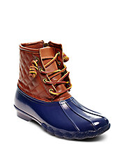 Tillis Leather-Accented Duck Boot