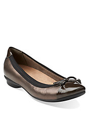 Candra Glow Leather Flats