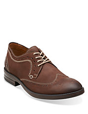 Delsin Leather Wingtip Shoes