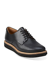 Glick Darby Platform Leather Oxfords