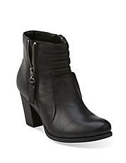 Palma Trina Leather Ankle Boots